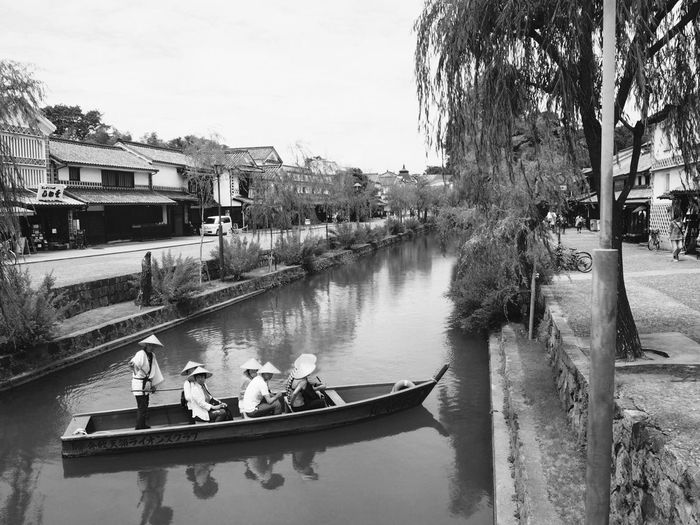 I Love My City Japan Okayama 美観地区 川舟流し River Ship Beautiful 伝統的建造物群保存地区 Traditional Architectures Preservation District