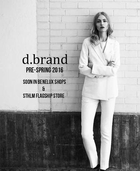 d.brand Swedish streetfashion brand In stores soon Dbrand