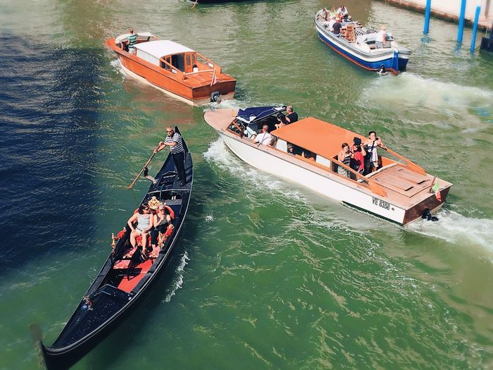 Venice Italy Transportation Water Day Travel Destinations Outdoors Famous Place Daylight Daytime Photography Boat Summer From My Point Of View Mode Of Transport