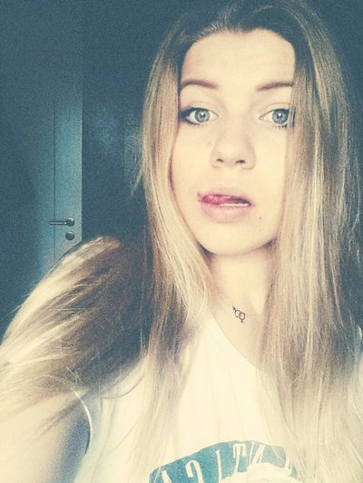 Polishgirl Blonde Girl Hot Today's Hot Look Blondie Smart Lick Lick  Thats Me! Sweet Girl Blue Eyes