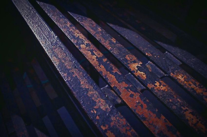 """""""Twelve steps to nowhere"""" (2015) Outdoors Close-up Outdoor Photography Denver,CO No People In The City Exterior Setting Stairs To Nowhere Stairs And Steps Rustporn  Rusty Metal Urban Photography Things That Go Bump In The Night"""