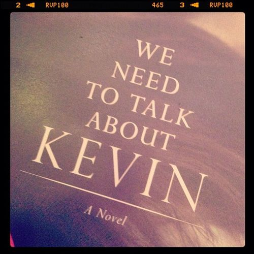 Got a new book! Book New Weneedtotalkaboutkevin MOVIE read