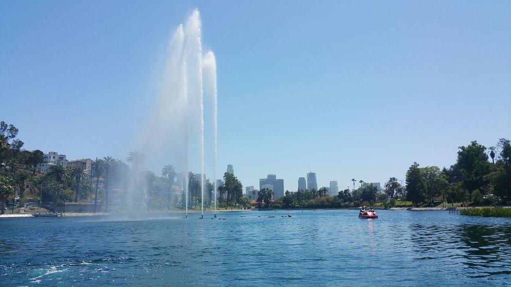 Echo Park Lake Echo Park
