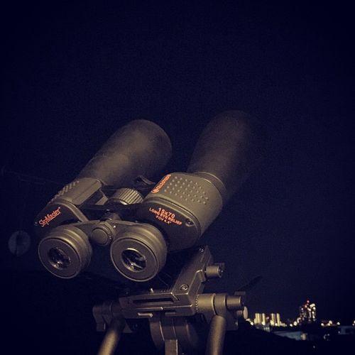 ラブジョイ彗星(C/2014 Q2)をストーキングする今日この頃☆ エメラルドグリーンのちょっとモワッとしたヤツに夜な夜な会うのが日課(^_^;) Celestron Skymaster ラブジョイ Lovejoy 彗星 Comet ラブジョイ彗星