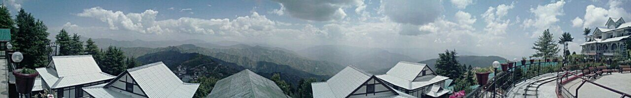 On top of the peak....43 Golden Moments Mountain Himachal Pradesh Nature Shimlahills Himachal Sky And Clouds Mountain View View From The Top Enjoying Life Panorama Panoramic View The 00 Mission