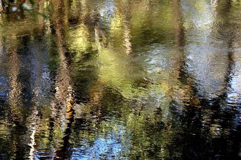 Beautiful reflections in the water today... Water Reflections Nature Getting In Touch Taking Photos River Escaping Enjoying Life