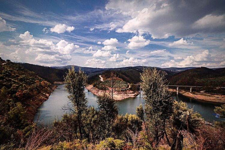 Portugal River Canon Cloud - Sky Sky Water Scenics - Nature Nature Beauty In Nature Plant Landscape First Eyeem Photo My Best Travel Photo