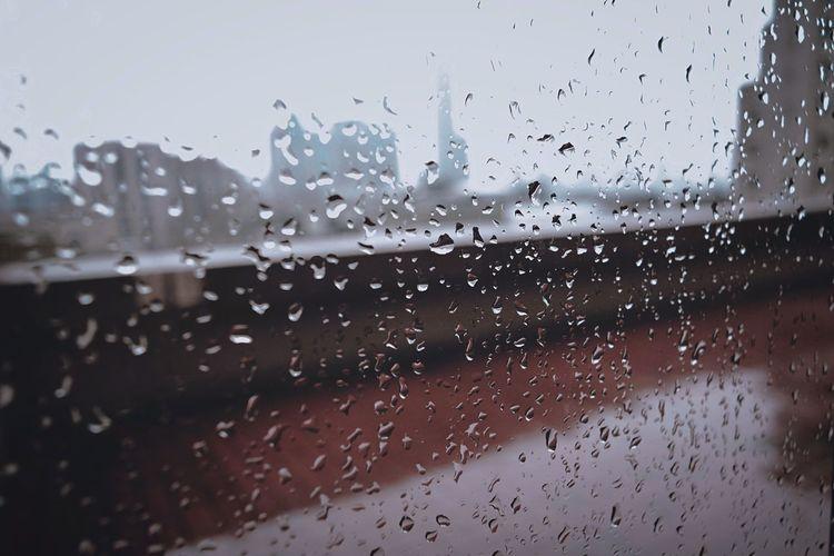 Rain Lonely Sad Black