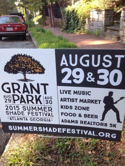 Grantpark ATL Atlanta Ga Atlanta Summer ☀ Festival
