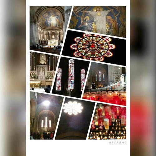 Sacred Heart Basilica Montmartre Paris, France  Paris The Traveler - 2015 EyeEm Awards Eye4photography  Parisbyday
