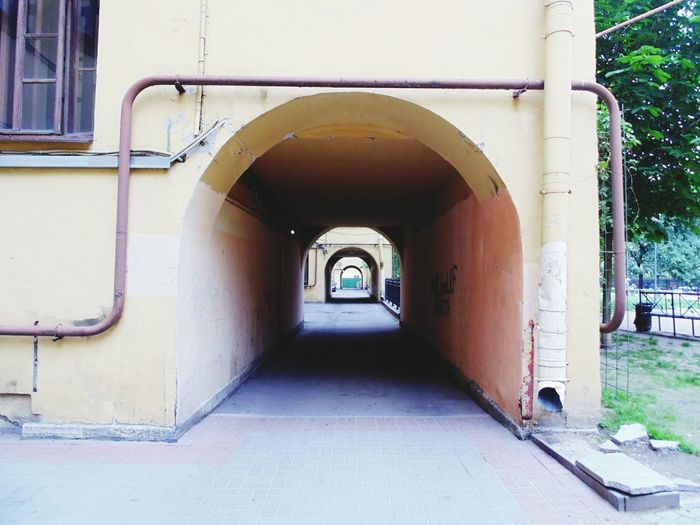 EyeEm Selects Arch Corridor Architecture Built Structure Archway Historic History Building
