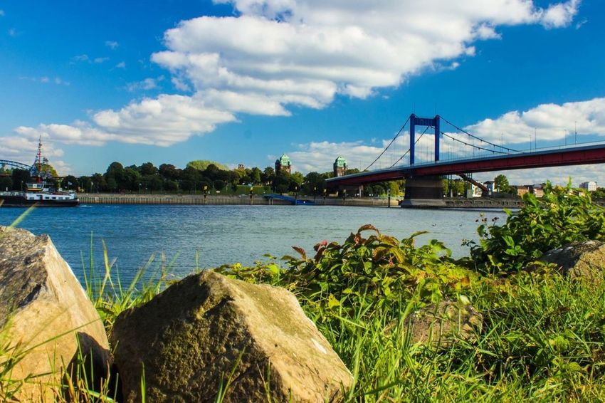 Ruhrort Mühlenweide Jachthaven River