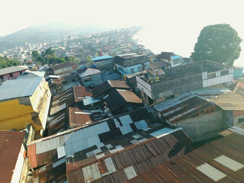 Landscape of Ambon city, Maluku province, Indonesia Ambon Maluku  SpiceIsland
