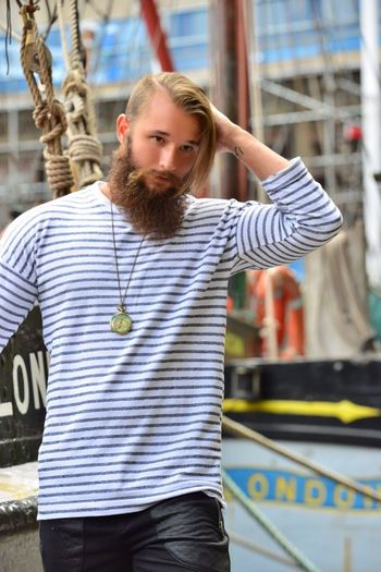 One Person Person Waist Up Outdoors Only Men People Adult Marine London Bearded Docks Hairstyle Casual Clothing Fashion Men