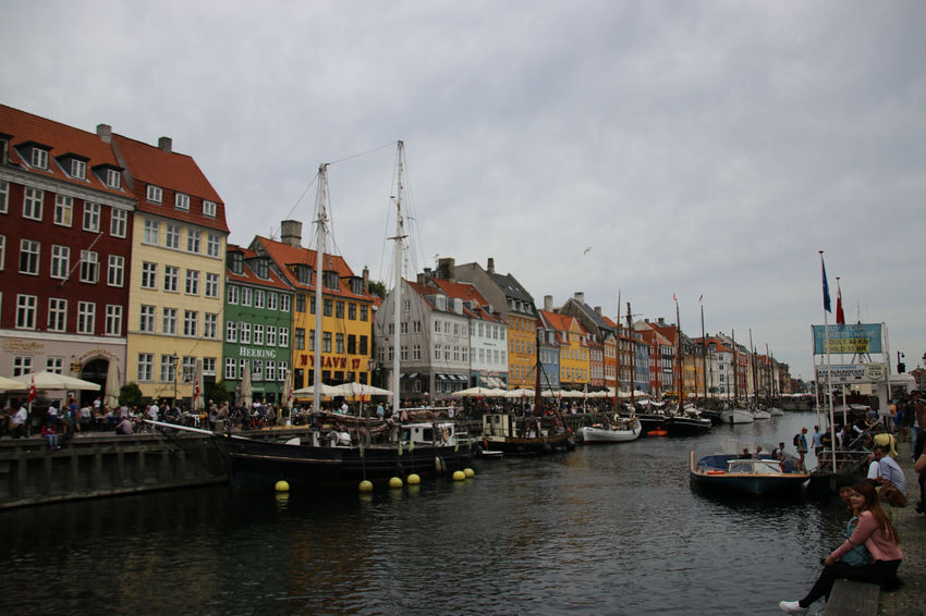 Outdoors Water Building Exterior Nautical Vessel Travel Destinations Architecture Cityscape Day City Large Group Of People People Sky Gondola - Traditional Boat Denmark Denmark Copenhagen Denmark Street Denmark 🇩🇰 Denmark 🇩🇰🇩🇰🇩🇰 Cophenhagen Connected By Travel