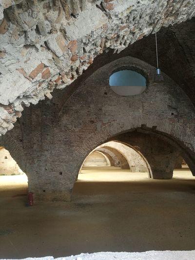 Reales Atarazanas Atarazanas Sevilla Spain Sevilla EyeEmNewHere Arch Architecture Built Structure Indoors  Architectural Column History Day