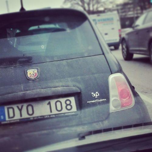 Fiat Competezione Cinquecento 595 500 abarth