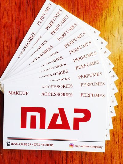 Map Online Shopping Makeup Accessories ❤ Perfumes