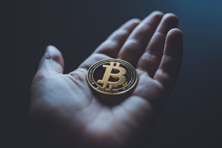 One bitcoin in
