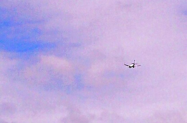 Up In The Clouds Clouds And Sky Up In The Sky Aircraft Transportation Blue And White