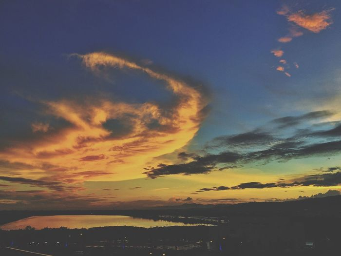 Sky Sunset Silhouette Beauty In Nature Tranquil Scene Scenics Outdoors Sunset Silhouettes Lostboyphotography