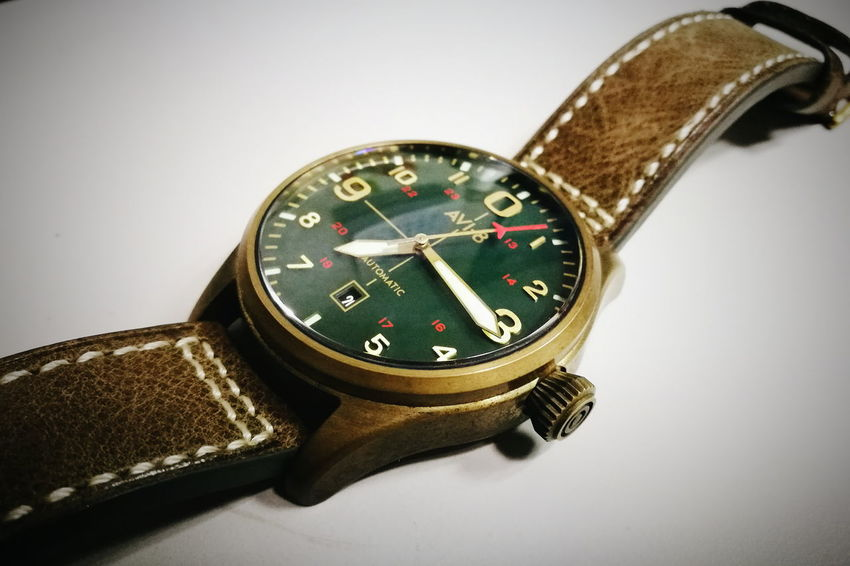 Grunge Look Avi8 Bronze Flyboy Watch Grunge Pilot