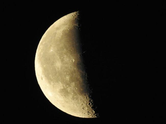 Měsíc Luna Moon Moonlight
