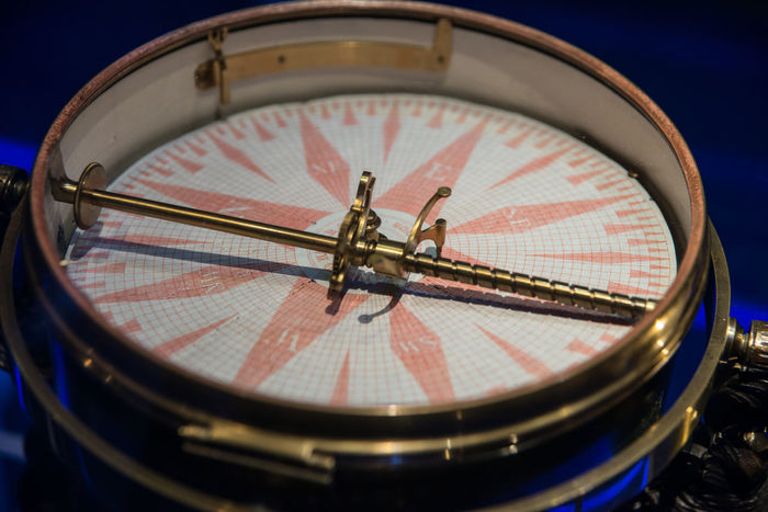 The National Maritime Museum, Amsterdam Close-up Compass Marine Navigation Day Shapes Measuring Instruments Metal Nautical Navigation Tools Navigational Compass Navigational Instrument No People
