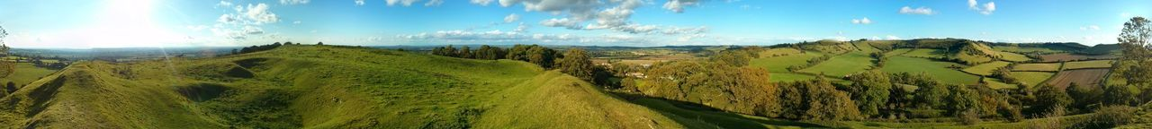 360 Panorama Beauty In Nature Cadbury Cadbury Castle England No People Somerset England