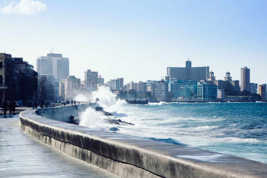 Been There. Cuba Havana Malecon Seascape Photography Architecture City Life Sea Seaside EyeEmNewHere