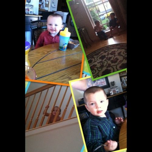 My baby cousins ???? Brothers Cuties Chunkers Broner landen silly lovethem collage