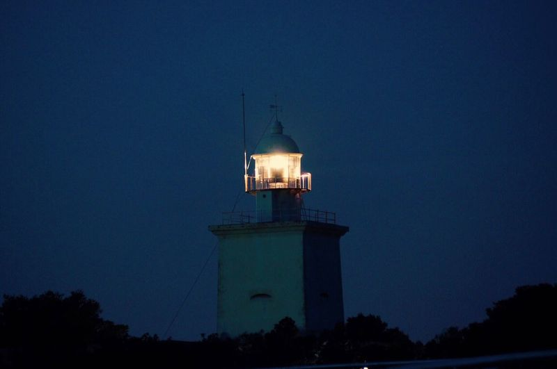 Lighthouse Faro De Luz Night