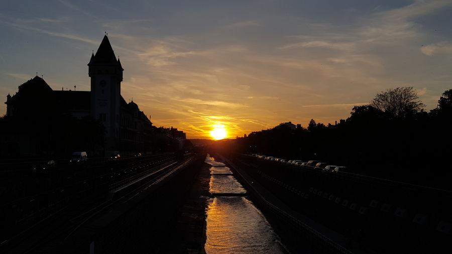 First Eyeem Photo sunset #sun #clouds #skylovers
