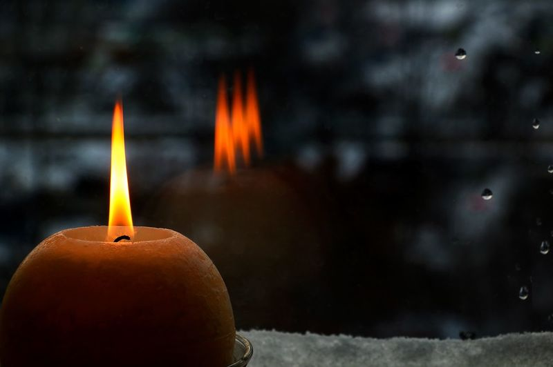 Days of Remembrance of the Holocaust in Ukraine Always Be Cozy Burning Candle Candle Flame Candlelight Close-up Darkness Darkness And Light Evening Evening Light Flame Heat - Temperature Holocaust Igniting No People Reflection