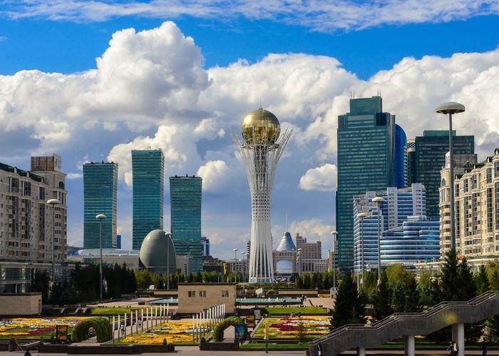 Astana Astana Baiterik Tower Astana City Baiterek Kazakhstan Modern Architecture Urban Landscape Астана байтерек Казахстан