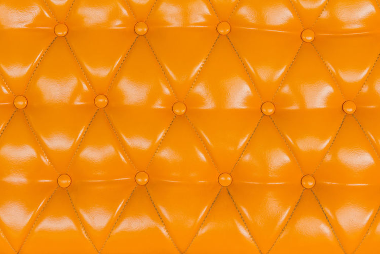 Backgrounds Full Frame Pattern Orange Color Yellow Close-up No People Textured  Leather Brown Vibrant Color Indoors  Geometric Shape Repetition Shiny Fashion Extreme Close-up Studio Shot Freshness Nature