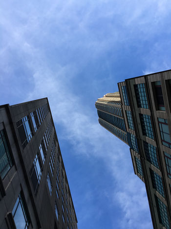Architecture Building Exterior Built Structure City Cloud - Sky Day Low Angle View Modern No People Outdoors Sky Skyscraper