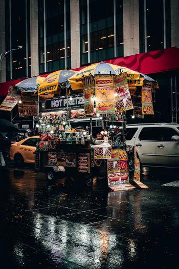 City Street Wet