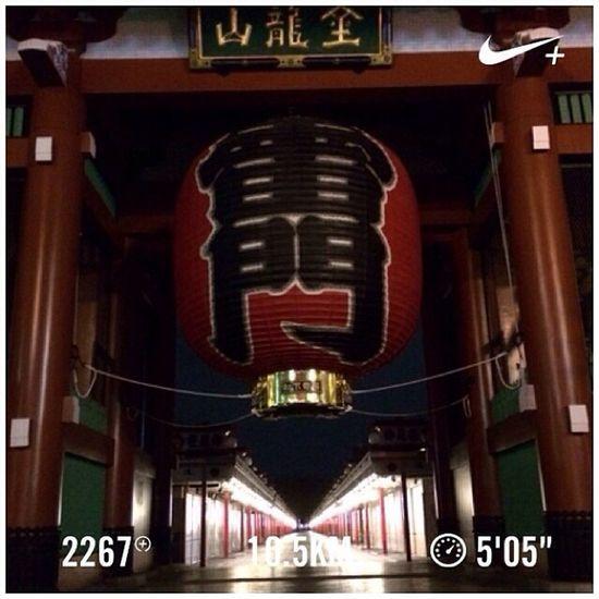 Running Tokyo Nike Run Japan Skytree 東京 スカイツリー 日本 GYAKUSOU 浅草寺 雷門 Nikeplus Sensouji 隅田川 ランニング Sumida ナイキ 隅田川テラス Sumidariver ラン 親水テラス