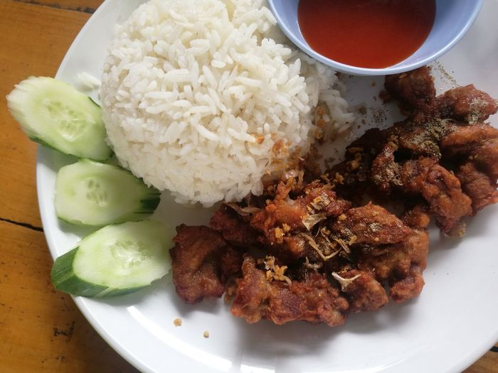 fried pork with