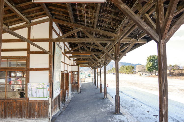 Matsushiro station trace Old Matsushiro Station Trace EyeEm Selects Architecture Built Structure Sky Historic History Historic Building