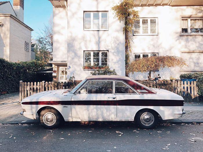 Autumnal car