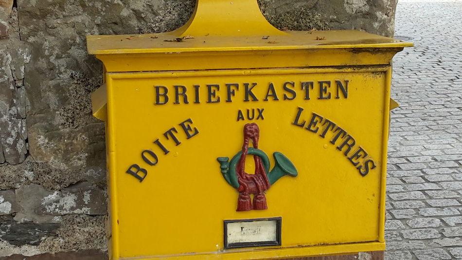 Vianden Luxenburg Briefkasten