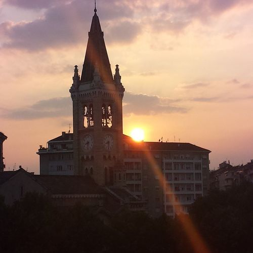 Santa Rita al tramonto SantaRita Torino Tramonto
