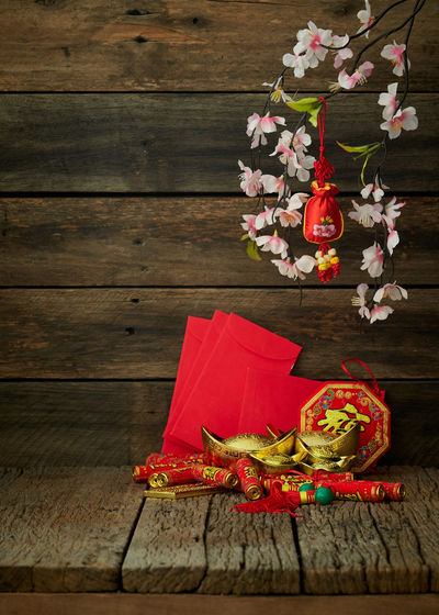 2019-2020 Wood Wooden Table Chinese Year New Background Red Festival Space Lunar Decoration Celebration Culture Asian  China Oriental Spring Food Traditional Gold Flower Blossom Holiday Prosperity ASIA Greeting Copy Lay Flat Plum Ornament Tradition Celebrate Fortune Packet Symbol Festive Happy Luck Envelope Good Pig Japanese  Happiness Rat Minimal Background Poster Wood - Material Flowering Plant No People Indoors  Freshness Plant Food And Drink Close-up Still Life Christmas