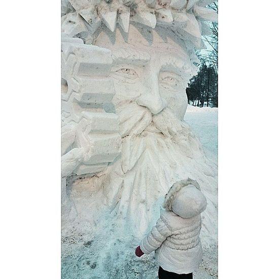 Tmarvlous Snowman Lakegeorgesnowman Lakegeorge addymaymar oldmanwinter
