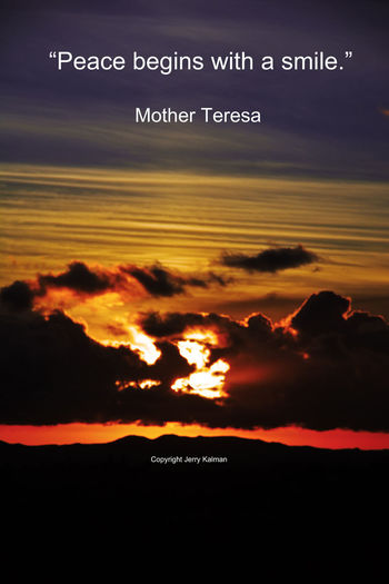 Today we celebrate the birthday of #MotherTeresa and her timeless #quote accompanies a #Fallbrook sunset. If this #quotograph speaks to you, please #repost it. Fallbrook, CA Quotes Sunset_collection Beauty In Nature Mother Teresa Quotograph Scenics - Nature Sunset Tranquility