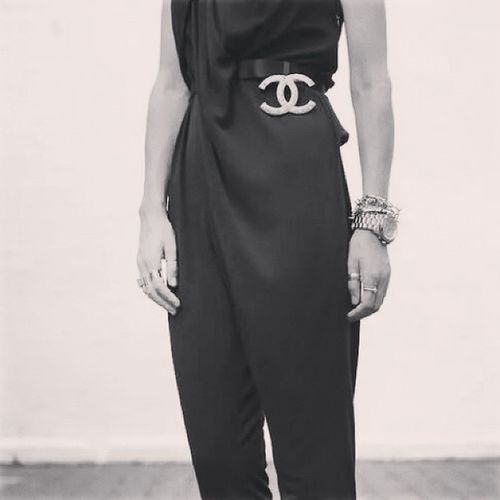 My favourite work look! Chanel @chanelofficial Workswag Workflow