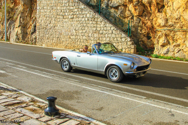 #beautifultrip #France #oldcars Car Day Mode Of Transport Old-fashioned Road Shiny Transportation