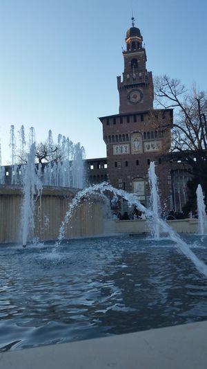 Nofilter Noedit Milano Milan,Italy Castello Sforzesco Castello Goodday Fontana Senzafiltro